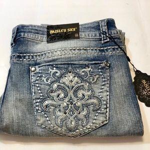 NWT! Paisley Sky jeans